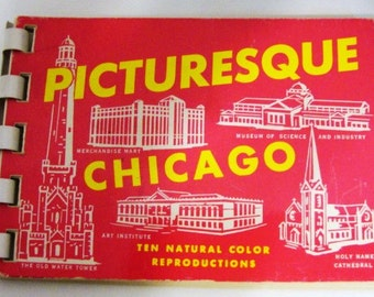 Eighteen, Mid-Century Small Colorful Souvenir, Picture Travel Booklets, Rare find