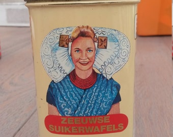 Vintage Dutch tin from the state Zealand