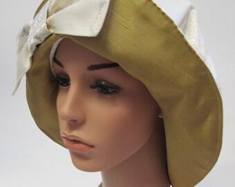Brocade Vintage Style Hat