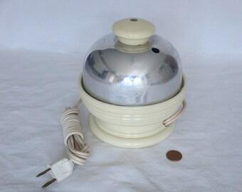 Vintage Hankscraft Cream Color Electric Egg Cooker - Model 874