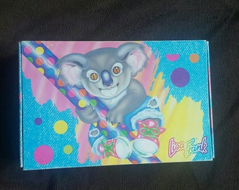 Lisa Frank Koala Pencil Box