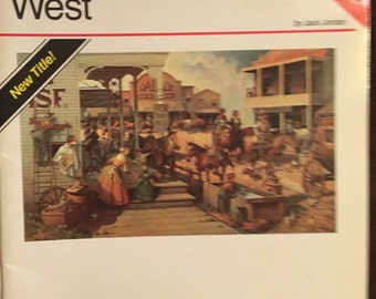 How to Draw and Paint The Old West Vintage book FREE SHIPPING