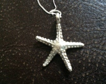Starfish from the Seychelles - Sterling Silver 925