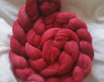 Hand Painted Merino Wool - Cranberry Sauce