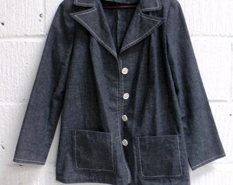 Vintage Denim Blazer