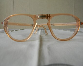 Vintage  Folding Spectacles. Made in England 1950's
