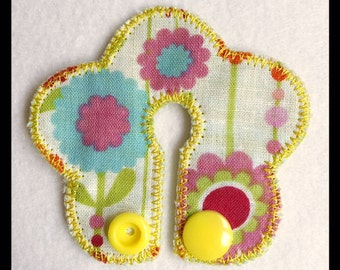 G Tube Pad Flower Machine Embroidery File in pes, dst, vip, jef, hus and vp3 Formats - Instant Download