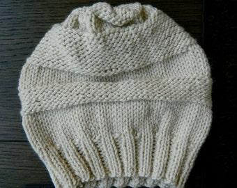 Textured knit Beanie