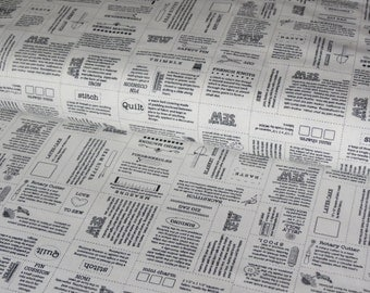 Moda Sewing Labels cotton woven fabric - UK seller
