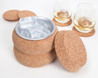 Cork Ice Bucket Cooler