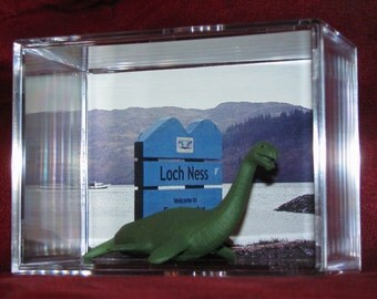"""The Lochness Monster (Nessie) Collectible figure display/great """"unique"""" gift or addition to a collection..Brand New"""