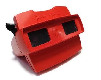 Vintage Red View Master. Gaf View-Master.