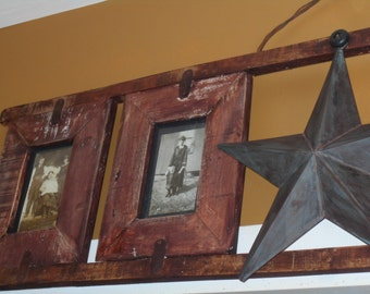 Hand Made Rustic  Barnboard  Picture Frame