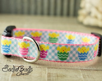 Easter Chick dog collar - Easter & Spring