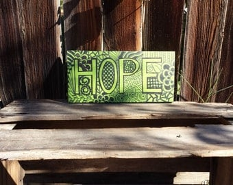 Hope Wall Decor