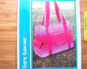 Bag Purse Sewing Pattern - Sloan Travel Bag Sewing Pattern - Sew Sweetness - Printed Sewing Pattern