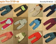 SALE FOR AUTUMN Wool longies, upcycled wool diaper cover, nappy cover, Made To Order, choose size and color range