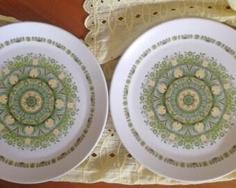 Noritake Palos Verde Luncheon Plates - Set of 2