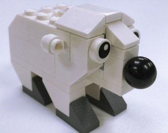 Constructibles Polar Bear LEGO® Parts & Instructions Kit - 40208