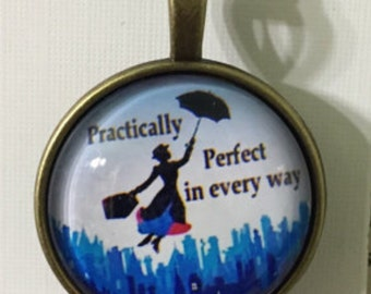 Mary Poppins Pendant necklace