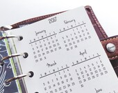 Printed Pocket Size Yearly Calendars #300-92