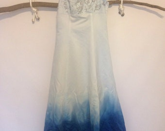 Custom Dip Dyed Wedding/Prom Dress