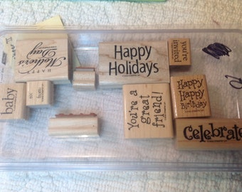 Stampin Up Stamps - All Year Cheer II