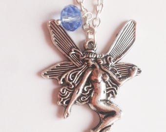 fairy necklace charm fairytale hada elf gnomes