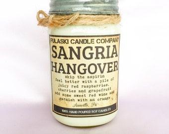 Sangria Hangover 16oz Vintage Soy Candle