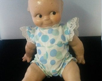 """Antique 12""""  Kewpie Composition doll"""