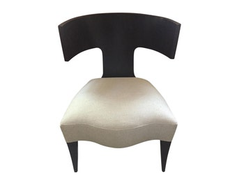 SALE! Donghia Klismos Chair, Newly Reupholstered!