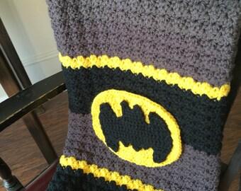 Handmade Batman Baby Blanket Etsy