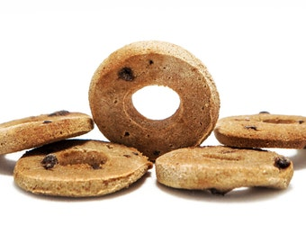 Organic Peanut Butter and Carob Chips Treats