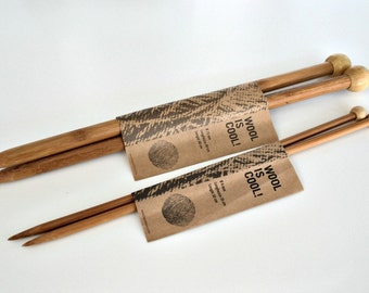 Bamboo Knitting Needles US 8mm