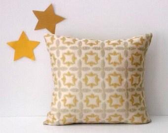 blue cream lumbar piping throw pillow cover 12x20 12x22