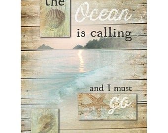 MA2223 - The Ocean is Calling - 18 x 24
