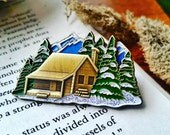 Windy Mountain ~ String Cheese Incident Hat Pin