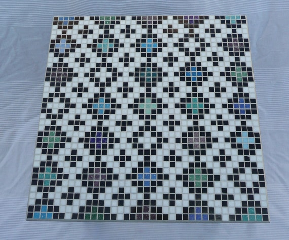 Moroccan Inspired Mosaic Coffee Table No.4 - Middle Eastern / Silkroad / Arabic