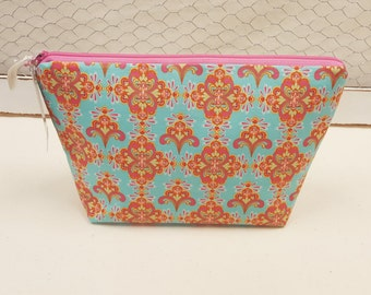 Cosmetic bag, Large zipper pouch, Makeup bag