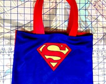 Superman Caped Crusader Costume Tote Bag