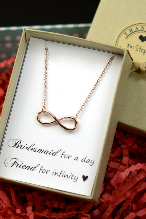 Good Wedding Gifts For Bridesmaids : ... to infinity,Beach wedding gifts,Bridesmaid gifts ,wedding jewelry
