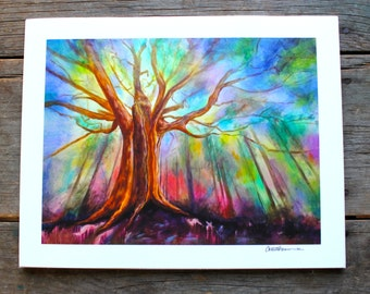 Awakening (Tree) - 11'' x 14''