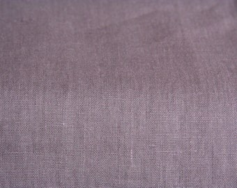 Lavender Linen Fabric/ Softened Linen/Natural Linen/Flax Linen/ Fabric by Half Yard/Baltic Linen