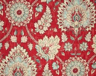 Strawberry Fabric Window Treatment Curtain Rod Pocket Draperies Strawberry Curtains