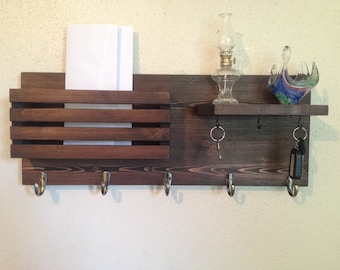 Entry Organizer and Coat Rack