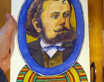 Mussorgsky portrait