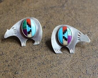 Ladies turquoise earrings