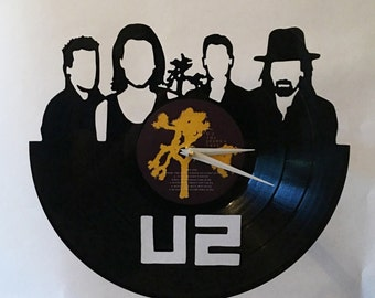 U2 Record Clock