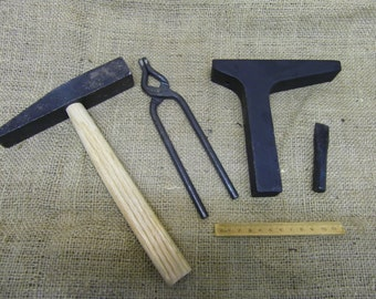 anglo saxon roman viking and medieval metalworkers smithing set re-enactment use
