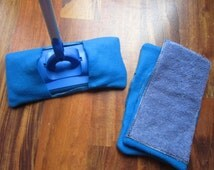 Reusable mop/duster sets in blue